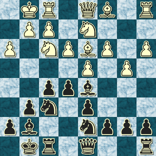 position after 10. ... e5!