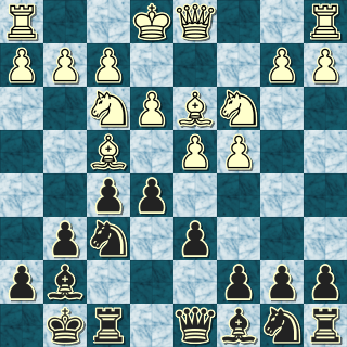 Position after 7. ... e5!